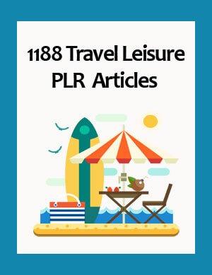 travel leisure plr articles