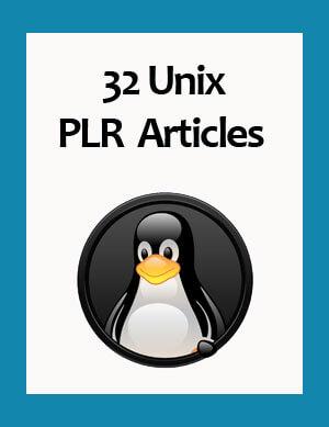 unix plr articles