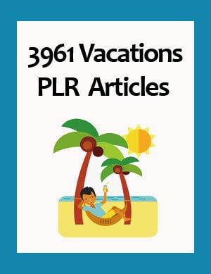 vacations plr articles