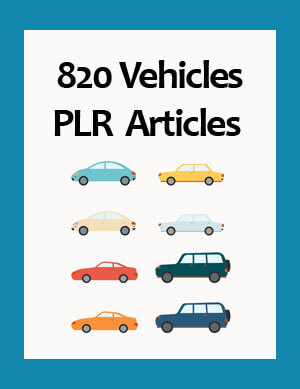 vehicles plr articles